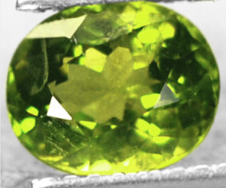 1 77 Ct Olive Green Natural Peridot Loose Gemstone For Sale