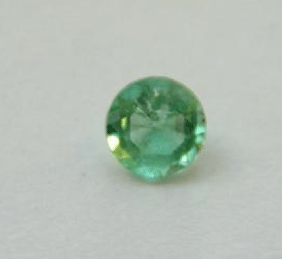 018 ct natural light green columbian emerald loose gemstone