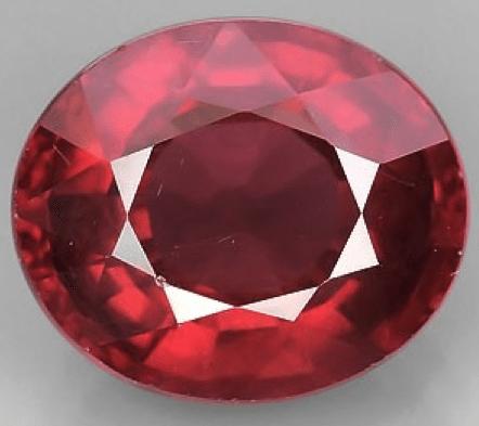 3 15 Ct Natural Red Rhodolite Garnet Loose Gemstone