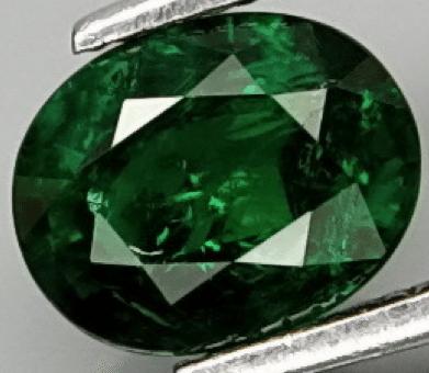0 75ct Natural Green Tsavorite Garnet Loose Gemstone
