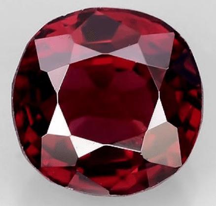 1 02 Ct Natural Red Mogok Spinel Loose Gemstone