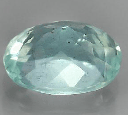 1 23 Ct Natural Oval Cut Aquamarine Loose Gemstone