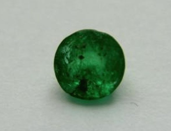 0 27 Ct Natural Green Columbian Emerald Loose Gemstone